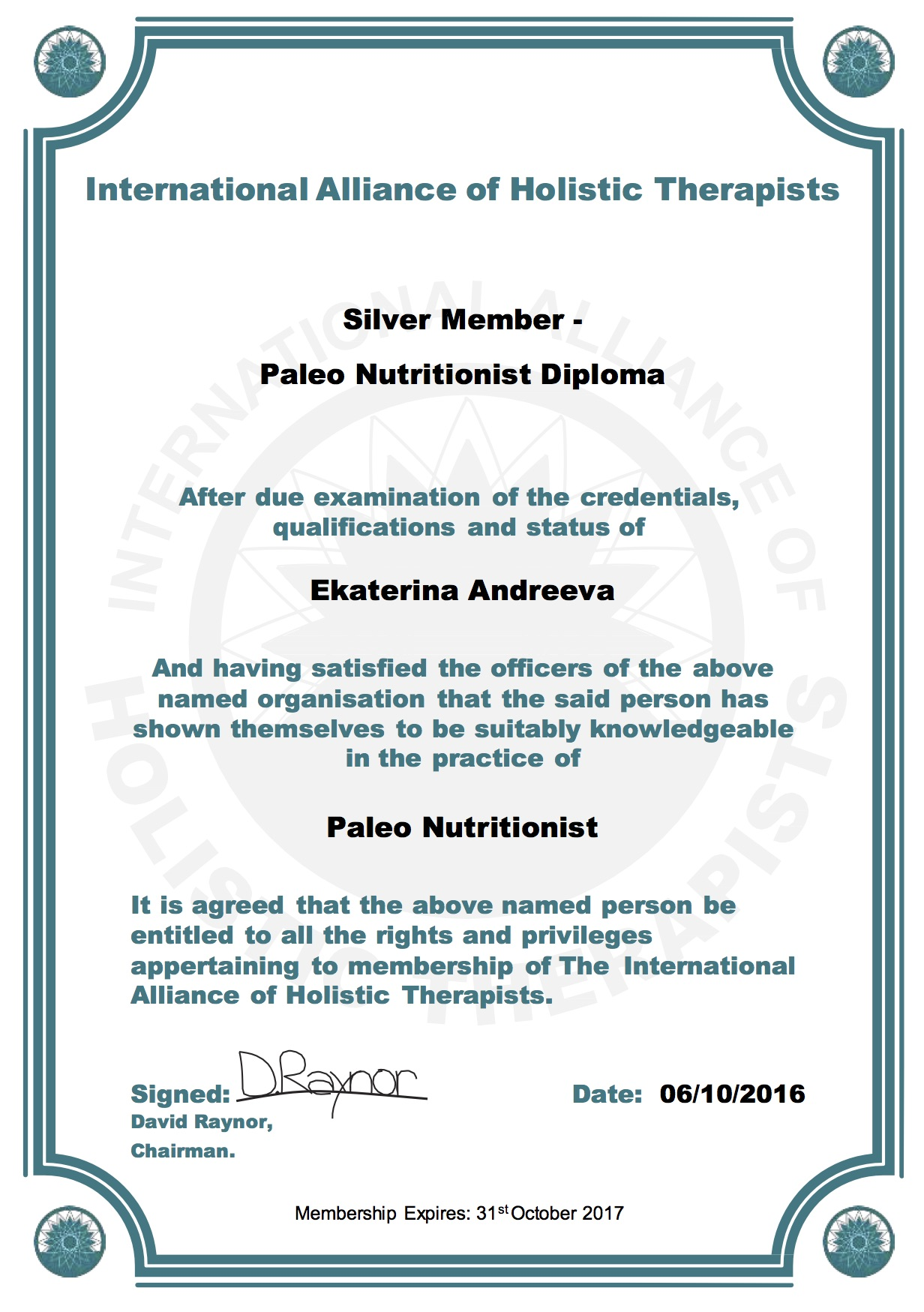 iaht-certificate