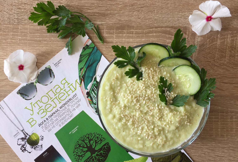 Рецепты по пятницам: холодный суп из цветной капусты и авокадо