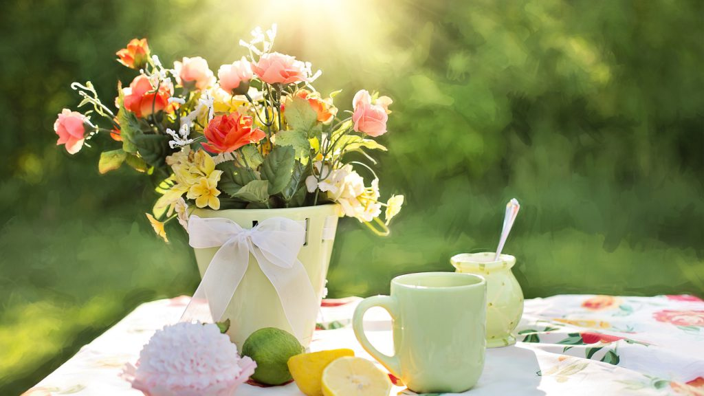 Доброе утро и цветы