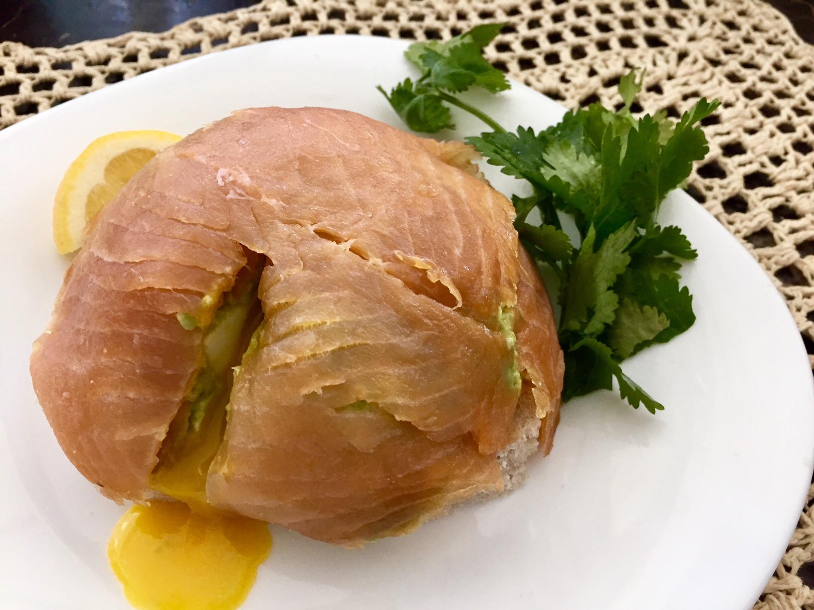рецепт авокадо с сёмгой